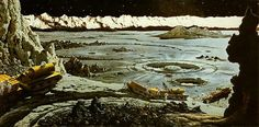 Original Creators: Father Of Modern Space Art Chesley Bonestell | The Creators Project