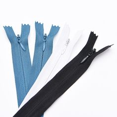 Nylon Invisible Zipper Close End Hidden Zipper