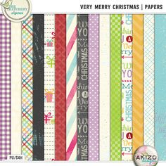 Very Merry Christmas | Papers