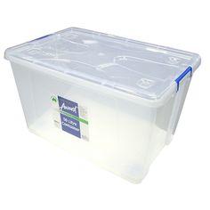 Aufbewahrungsboxen Aus Kunststoff Mit Deckel - Schrank