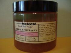 Bath & Body Works Aromatherapy Sandalwood Rose Scrub Large Full Size Jar  www.beblissful.ecrater.com