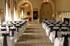 Heythrop Park, Oxfordshire. Wedding/Party Venue.