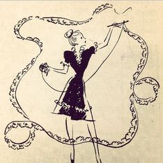 @ Illuminate Crochet: Vintage Crochet Illustration by Elizabeth Mathieson from The Complete Book of Crochet Crochet Books, Crochet Art, Crochet Granny, Embroidery Patterns, Crochet Patterns, Crochet Designs, Stitch Patterns, Knitting Patterns, Sewing Station