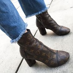 7db60ee1e4 16 Best Louis Vuitton boots images in 2018 | Boots, Brand name shoes ...