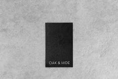 Oak & Hide Identity by Jasmine Holm via Hatch Inc. Visual Journal
