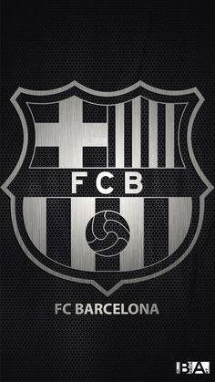 Barcelona logo black and white wallpaper Barcelona Fc Logo, Barcelona E Real Madrid, Barcelona Futbol Club, Barcelona Soccer, Team Wallpaper, Football Wallpaper, White Wallpaper, Cr7 Messi, Neymar Jr