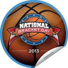 2013 National Bracket Day Sticker | GetGlue