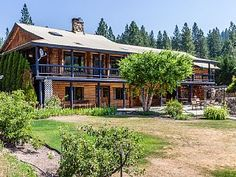 Book the Whistlestop Lodge for wide open spacesVacation Rental in Leavenworth from @HomeAway! #vacation #rental #travel #homeaway