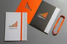 CAREERS 2.0 Custom Folder by Nicole Kraieski, via Behance