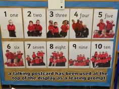 counting display using children for maximum engagement #abcdoes #displayinearlyyears
