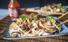 <p>Not only is this spicy noodle stir-fry is done in under 30 minutes, it's also a perfect weekday dinner. </p>