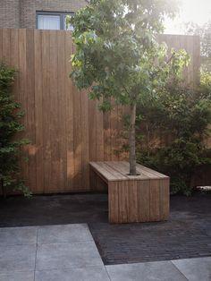 Tuinontwerp of tuinarchitect? Wij ontwerpen tuinen om in te leven. — patiotuin Garden Inspiration, Terrace, Landscape, Architecture, Outdoor Decor, Plants, Amsterdam, Design, Gardening