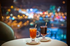 Enjoy the view from the #Skybar in Radisson Blu  Hotel in #Lietuva #Vilnius #mulledwine