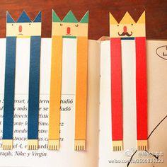 Marcador de livro fofo   Cute bookmark