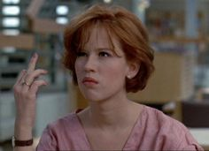 Claire Standish (Molly Ringwald), The Breakfast Club 90s Movies, Good Movies, Movie Tv, 1980s Films, Iconic Movies, Movies Showing, Movies And Tv Shows, Series Quotes, Movie Quotes
