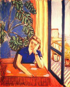 The Blue Blouse, Henri Matisse 1935