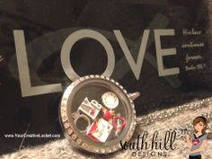 South Hill Designs locket with lots of love!  #southhilldesigns  #locket #yourcreativelocket #valentines