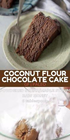 Coconut Flour Chocolate Cake, Peanut Butter Icing, Baking With Coconut Flour, Chocolate Lava Cake, Baking Flour, Chocolate Flavors, Chocolate Peanut Butter, Healthy Cake, Healthy Desserts