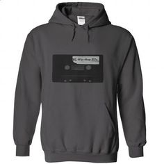 Hip-Hop Cassette tape 1985 Tees and Hoodies - #comfy hoodie #maroon sweater. GET YOURS => https://www.sunfrog.com/Music/Hip-Hop-Cassette-tape-1985--Charcoal-Hoodie.html?68278