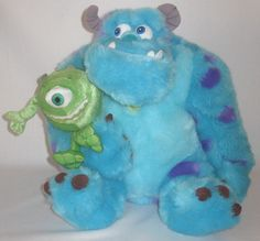 Monsters Inc Mike & Sulley Plush