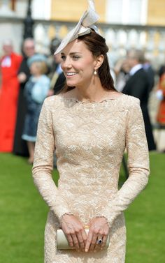 10 June 2014: Kate Makes It Back to the Palace in Time For Prince Philip's Birthday Party