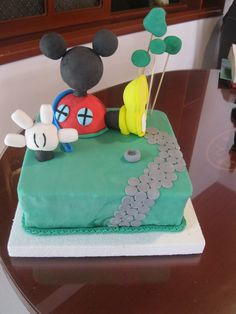 La casa de Mickey Mouse Party Ideas, Cake, Desserts, Food, Mickey Mouse Clubhouse, Meet, Pastries, Party, Tailgate Desserts