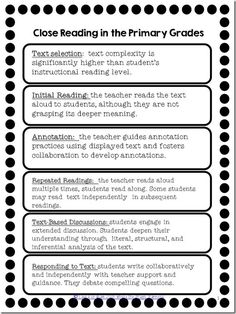 Reading ~ What is it? What is close reading and why does it need to happen in your primary classroom?What is close reading and why does it need to happen in your primary classroom? The Reading Strategies Book, Close Reading Activities, Reading Comprehension Activities, Reading Groups, Reading Resources, Reading Levels, Reading Skills, Guided Reading, Teaching Reading