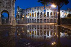 #Roma #Rome #night #colosseo #Italy