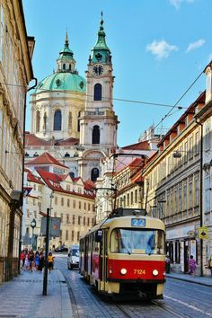 Corner of Mala Strana in Prague Places To Travel, Places To See, Beautiful World, Beautiful Places, Travel Around The World, Around The Worlds, Prague Czech Republic, Train Pictures, City Photography