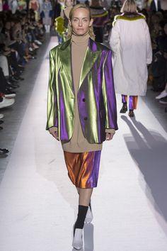 Dries Van Noten Fall 2017 Ready-to-Wear Fashion Show - Amber Valletta (Women)