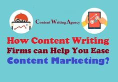 If you are one of those who are facing problems in rising their rank and outreach by #ContentMarketing, Content Writing firms can surely help you out.