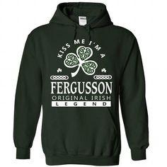 nice FERGUSSON Name Tshirt - TEAM FERGUSSON LIFETIME MEMBER