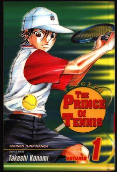 PRINCE of TENNIS #1 Takeshi Konomi, Viz Communications, Shonen Jump Sports Manga Comics Collection,Ryoma,