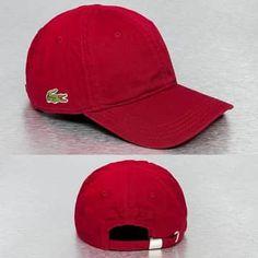 d0e355dc3c Lacoste Classic Snapback rouge Casquette Rouge, Look Sportif, Casquettes,  Tenue De Sport,