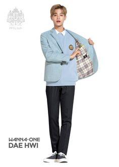 Ivyclub x Wanna One Ivy Club, Jaehwan Wanna One, School Uniform Fashion, Boys Home, Guan Lin, Lai Guanlin, Produce 101 Season 2, Ong Seongwoo, Lee Daehwi