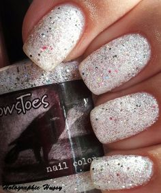 Holographic Hussy: CrowsToes Bunny Slope/Angel Paint