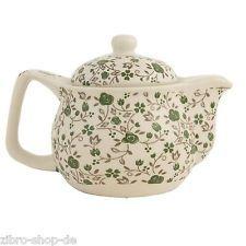 Neu von Clayre & Eef  Hübscher Teepot Teekanne inkl.Teesieb Keramik 6CETE0016