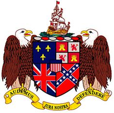 """Alabama Coat of Arms - Audemus Jura Nostra Deffendere - """"We dare defend our rights. Sweet Home Alabama, Family Crest, Crests, My Heritage, Coat Of Arms, Flag, United States, Symbols, History"""