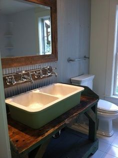 Bathroom galvanized sheet metal Design Ideas, Pictures, Remodel and Decor