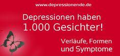 """Die Depression hat 1.000 Gesichter Bereits an anderer Stelle habe ich darauf hingewiesen, dass keine Depression der anderen gleicht. Die Diagnose ist schwierig und die Begriffe für Laien schwer verständlich. Als mir der Arzt die Diagnose """"Rezidivierende Depression"""" mit akut schwerer depressiver Epi"""
