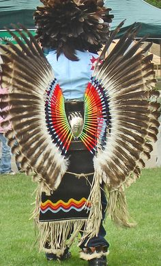 Dance Bustle of Sacred Eagle Feathers  by Urban Woodswalker, via Flickr