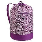 Laundry backpack, $46 with three-letter personalization.  What a great graduation gift for someone heading to TCU!