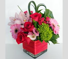 valentines day flower arrangments | it s valentine s day weekend are you celebrating tonight make the ...