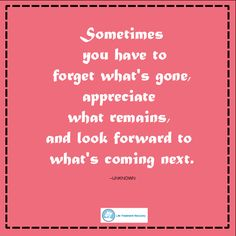 Forgetting the #past might not be easy, but one thing for sure, the #future will be better if you learn to let #go of the past.