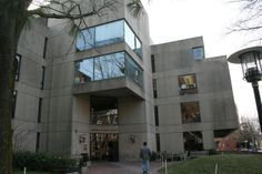 An Exterior View of Gutman Library