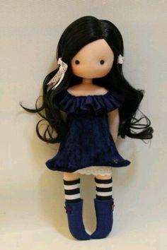 We sew a doll 0 Doll Crafts, Diy Doll, Gothic Dolls, Fox Toys, Polymer Clay Dolls, Cute Toys, Waldorf Dolls, Sewing Toys, Fairy Dolls