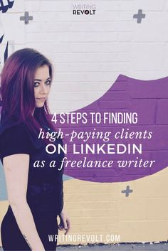 Need more freelance writing clients fast? This post will walk you through EXACTLY how to find freelance writing clients using LinkedIn. I used these exact methods to make money writing online fast ($5K/mo within 4 months!). Read now to start learning and start building a profitable freelance writing business using LinkedIn. :) www.writingrevolt...