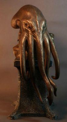 Lee Joyner brings us the Key of Cthulhu, a very anthropomorphic take on the dread elder god.