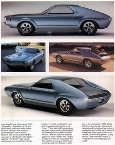 1966 American Motors AMX concept