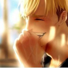 I think this is the first time I've seen Erwin smile. Does he smile in the manga and anime?